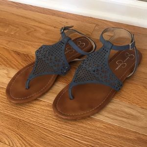 Jessica Simpon sandals in Blue